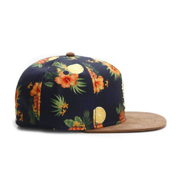 Cayler & Sons Gold Label snapback Fruity Summer Cap navy / brown / mc GLD-CAY-SU16-02