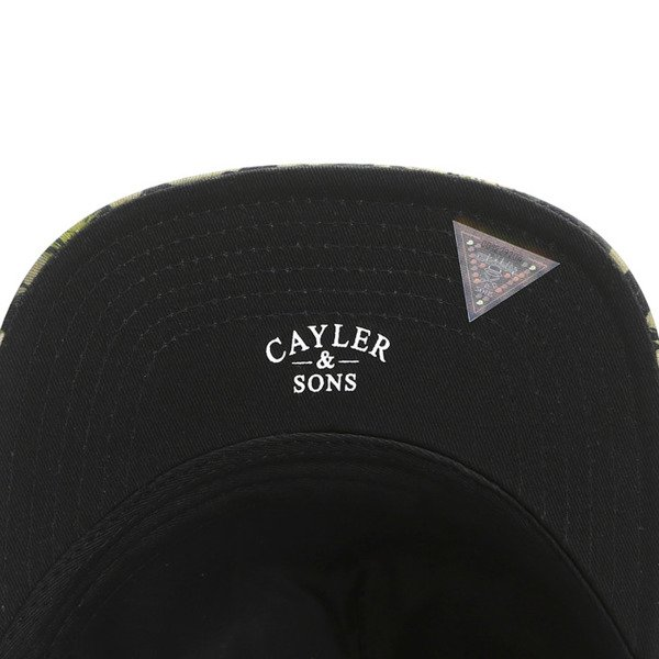 Cayler & Sons Gold Label snapback Jungle Massive Cap woodland / olive/ silver (GLD-CAY-SS16-12)