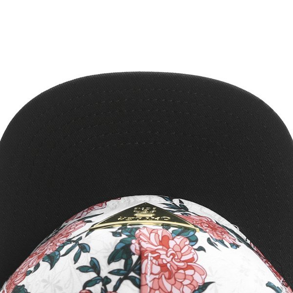 Cayler & Sons Gold Label snapback Ol' Skool Cap floral off-white / black / gold (GLD-CAY-SS16-08)