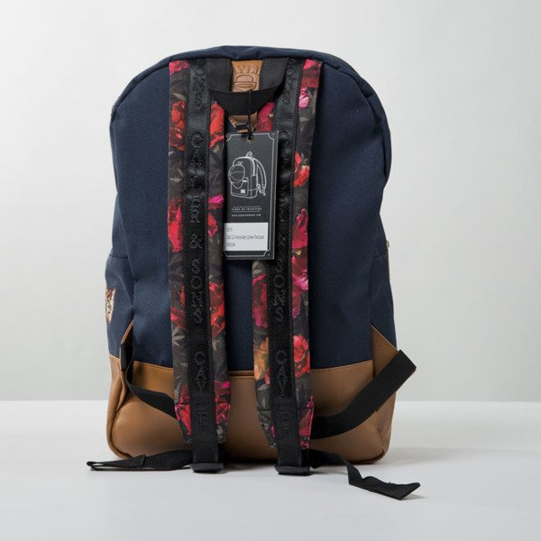 Cayler & Sons Green Label Amsterdam Uptown Backpack navy / cognac / mc (GL-CAY-SS16-BP-02)