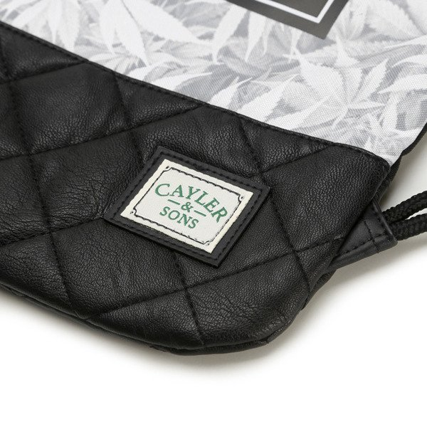 Cayler & Sons Green Label Cali Love Gymbag black / white (GL-CAY-SS16-GB-01)