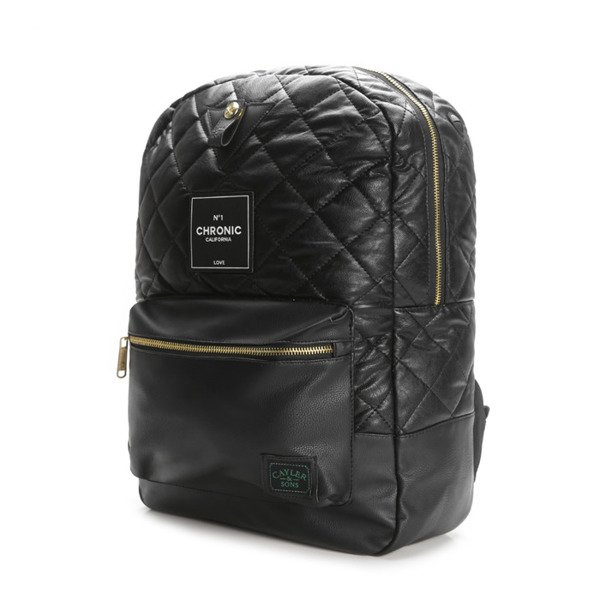 Cayler & Sons Green Label Chronic Uptown Backpack black / gold / white (GL-CAY-SS16-BP-01)