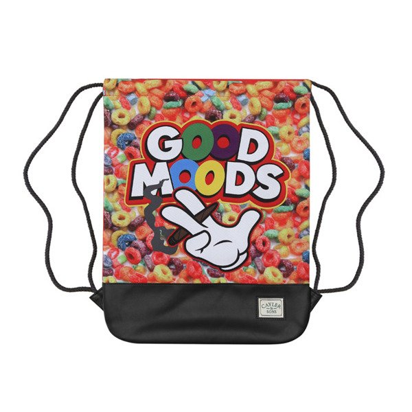Cayler & Sons Green Label Good Moods Gymbag red / mc / black (GL-CAY-SS16-GB-02)