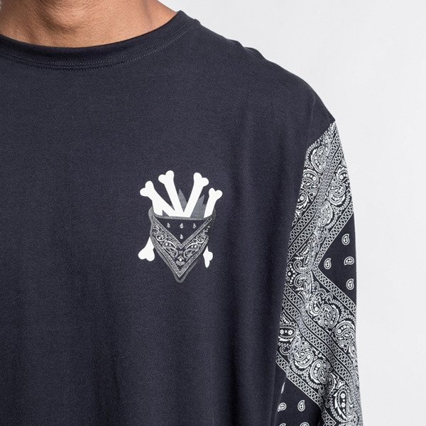 Cayler & Sons Grime Longsleeve navy / white WL-CAY-AW16-AP-13