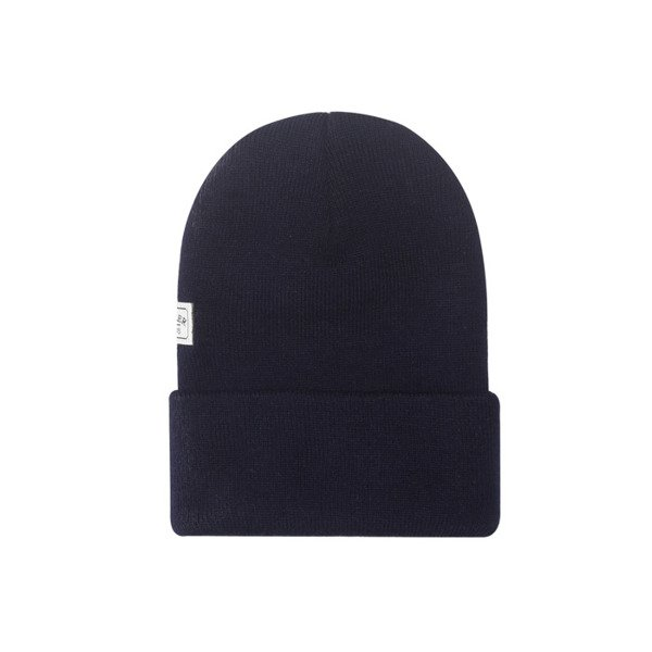 Cayler & Sons Grime Old School Beanie navy / white WL-CAY-AW16-BN-06