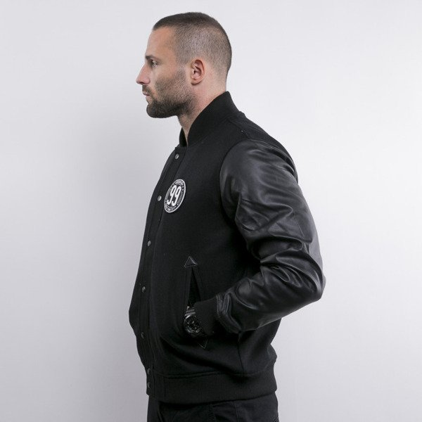 Cayler & Sons Hello Brooklyn Baseball Jacket black / white (WL-CAY-AW15-AP-01)