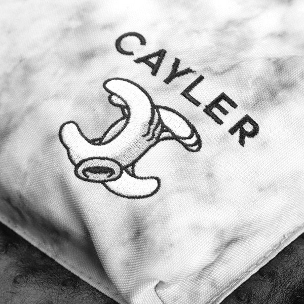 Cayler & Sons No.1 Uptown Backpack white marble / black marble WL-CAY-AW16-BP-04