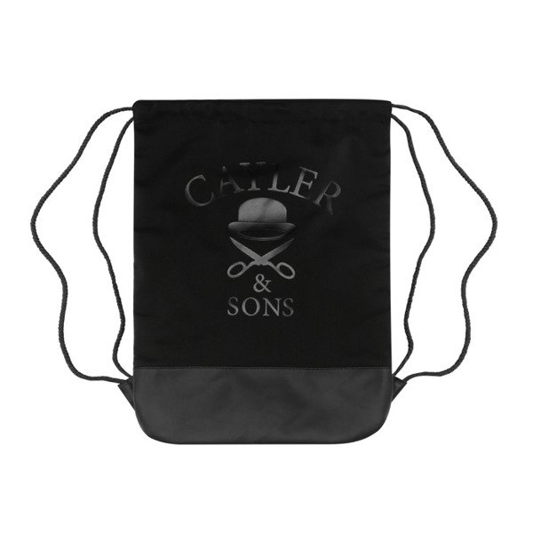 Cayler & Sons Own Supply Gymbag black / white / mc GL-CAY-AW16-GB-04