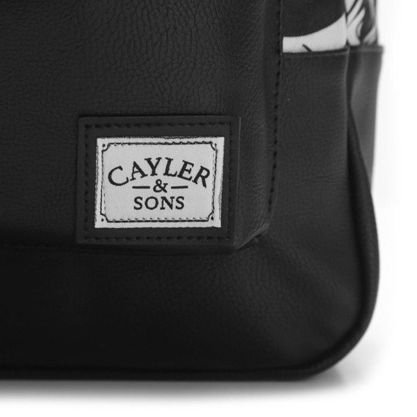 Cayler & Sons Problems Uptown Backpack black / white WL-CAY-SU16-BP-01