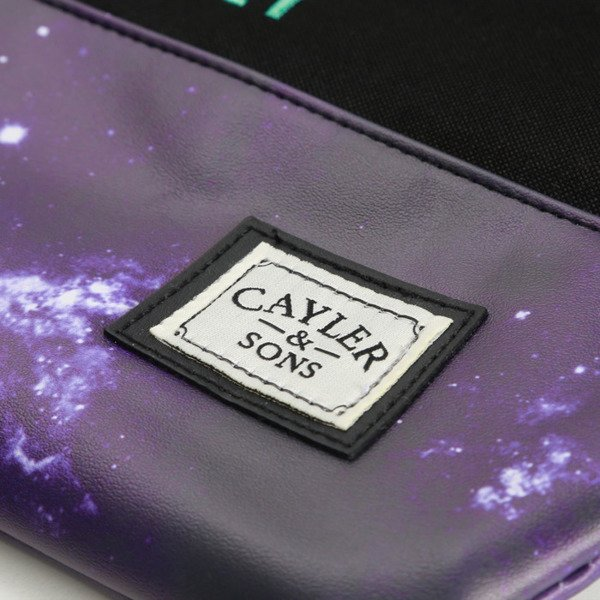 Cayler & Sons Stay Fly Gymbag black / purple WL-CAY-AW16-GB-13