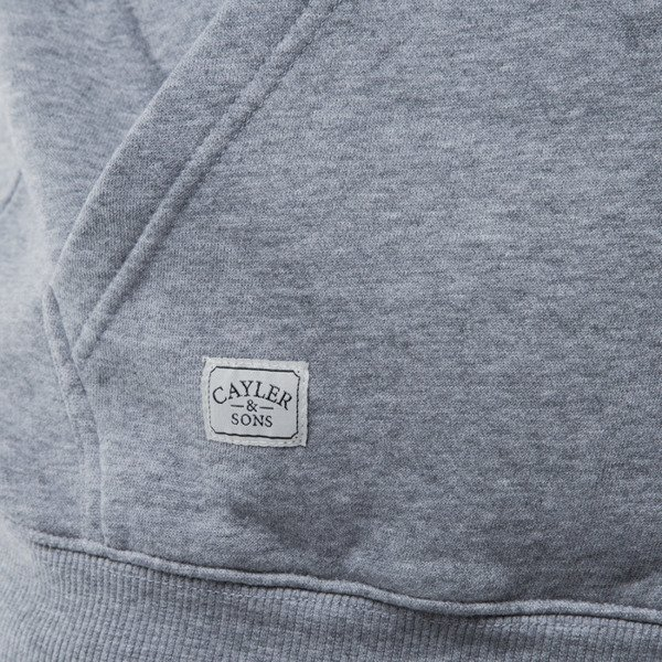 Cayler & Sons Still No. 1 Hoody grey heather / white / black (CAY-SS15-AP-12-01)