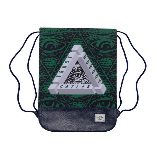 Cayler & Sons Triangle Of Trust Gymbag navy / green / white WL-CAY-AW16-GB-04