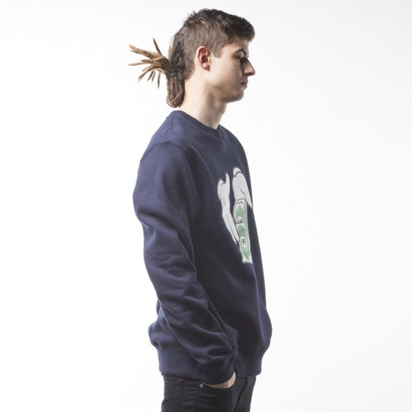 Cayler & Sons WL Get Money Crewneck navy / white (WL-CAY-SS16-AP-09)