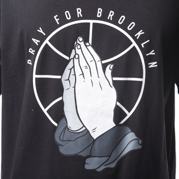 Cayler & Sons WL Pray For Brooklyn Tee black / white (WL-CAY-SS16-AP-28)