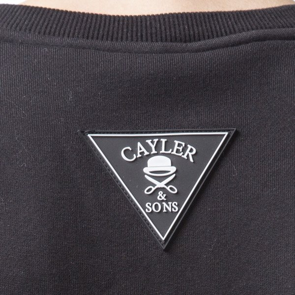 Cayler & Sons WL Terrible Long Crewneck black / white (WL-CAY-SS16-AP-13)