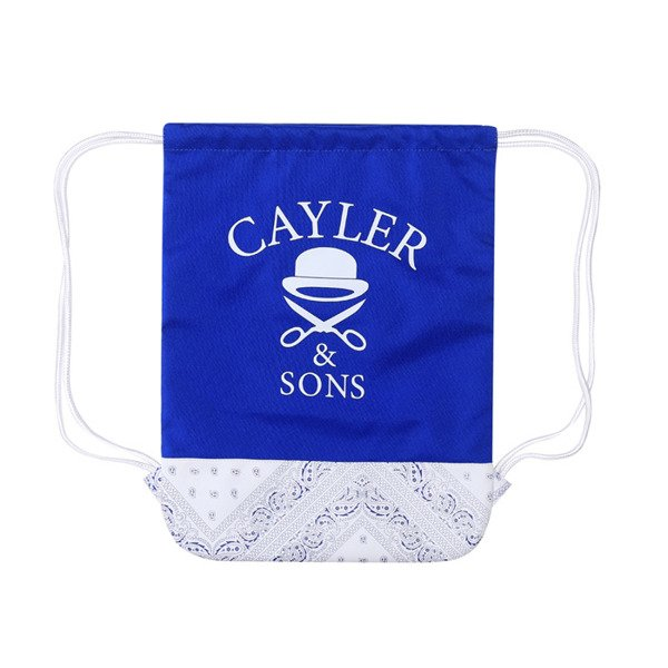 Cayler & Sons White Label Ivan Antonov Gymbag royal blue / white (WL-CAY-SS16-GB-04)