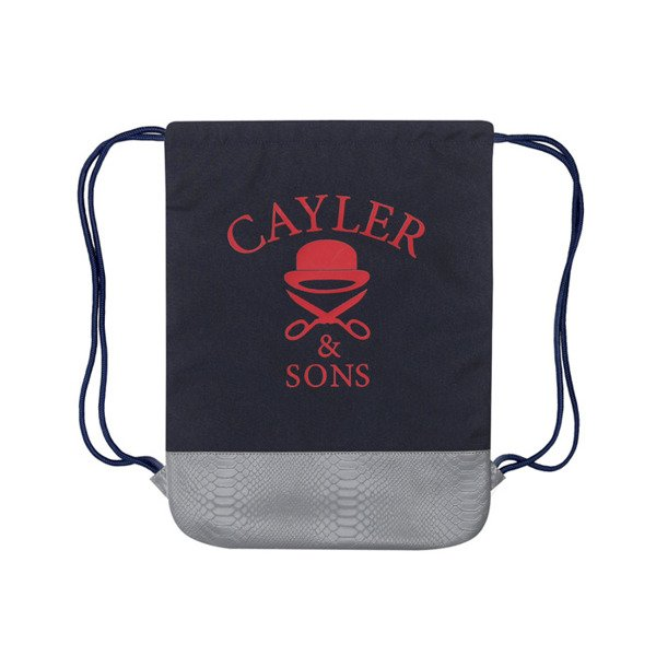 Cayler & Sons White Label  One Night Gymbag navy / red / white (WL-CAY-SS16-GB-10)