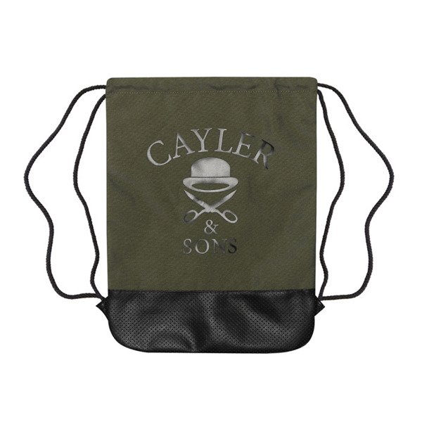 Cayler & Sons White Label Pacasso Gymbag forrest green / mc (WL-CAY-SS16-GB-13)