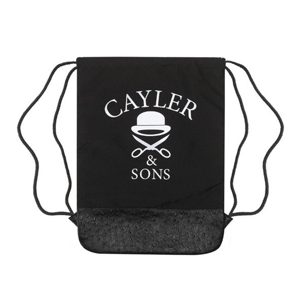 Cayler & Sons White Label Paris 75 Gymbag black / floral paisley (WL-CAY-SS16-GB-03)