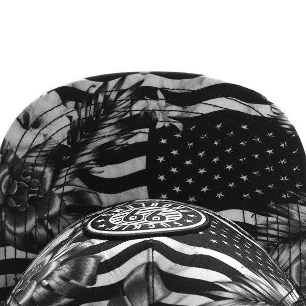 Cayler & Sons White Label snapback 99 FCKN Problems Trucker Cap black / white WL-CAY-SU16-12