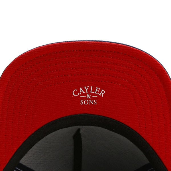 Cayler & Sons White Label snapback BK Angels Cap navy / red WL-CAY-SU16-08