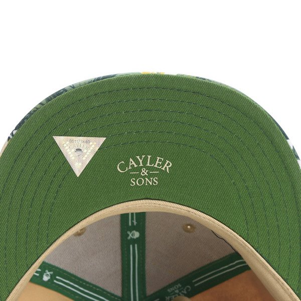 Cayler & Sons White Label snapback BK Beach Cap sand / mc / white (WL-CAY-SS16-36)