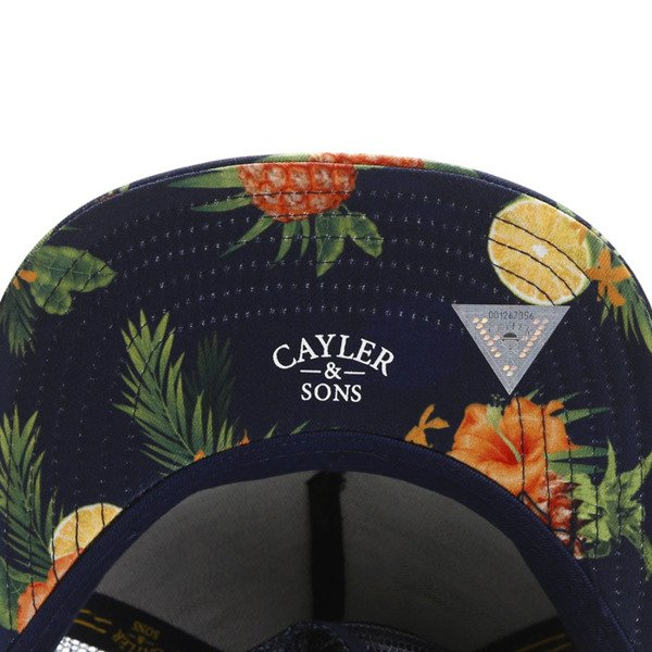 Cayler & Sons White Label snapback BK Fruits Trucker Cap navy / mc WL-CAY-SU16-18