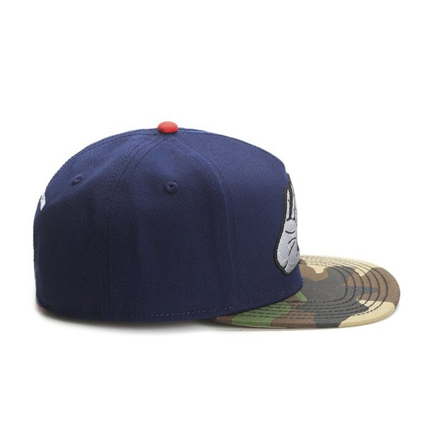 Cayler & Sons White Label snapback BKNY Cap navy / woodland / red(WL-CAY-SS16-01-02)