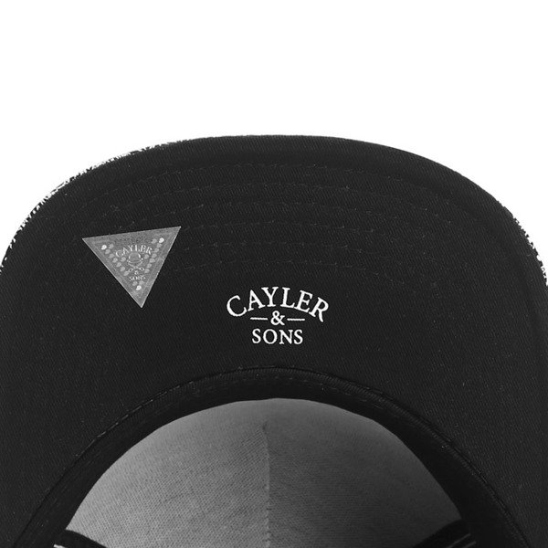 Cayler & Sons White Label snapback Crimes Cap black paisley / black (WL-CAY-SS16-11-02)