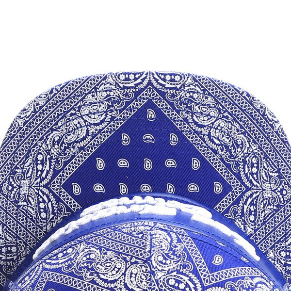 Cayler & Sons White Label snapback Crimes Cap royal blue paisley / royal blue (WL-CAY-SS16-11-01)