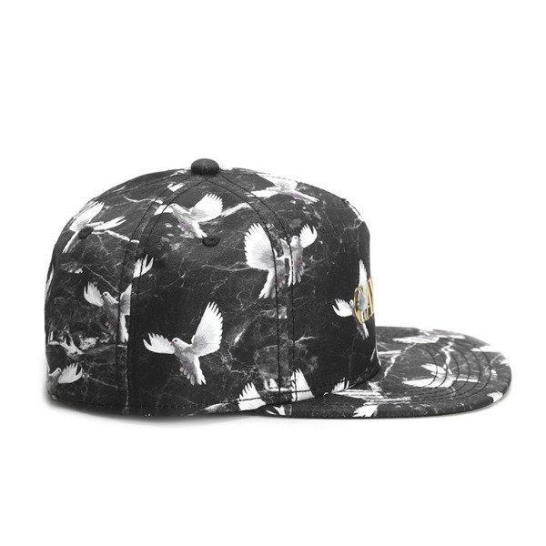 Cayler & Sons White Label snapback Doved Out Cap black / marble (WL-CAY-SS16-30)