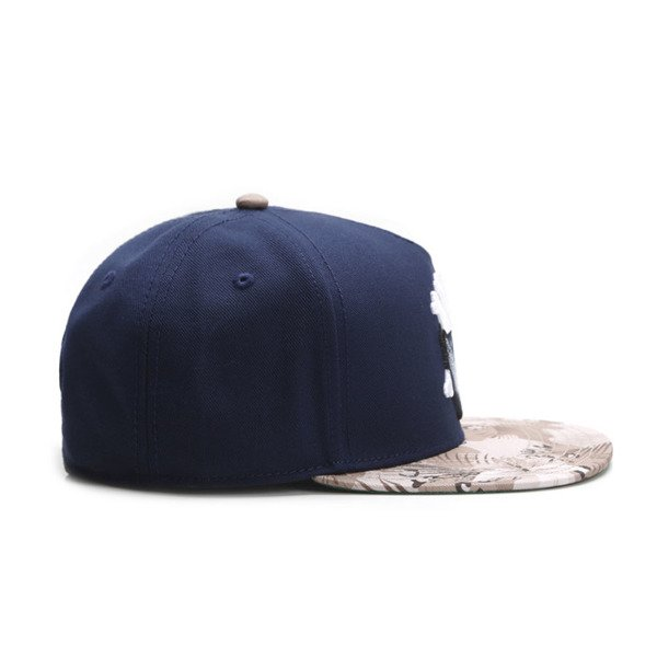 Cayler & Sons White Label snapback Grime Cap navy / desert flowers WL-CAY-SU16-13