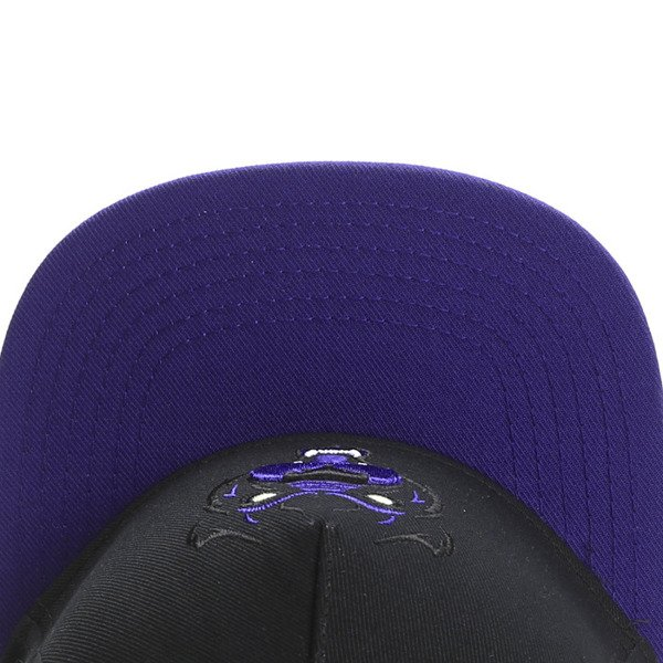 Cayler & Sons White Label snapback Harlem Hustle Cap black / purple / mc (WL-CAY-SS16-16)