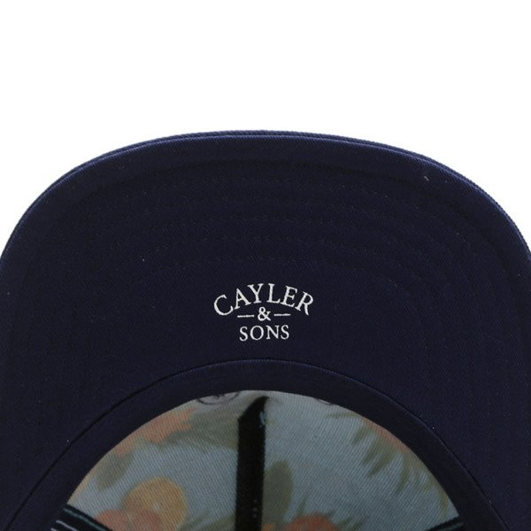 Cayler & Sons White Label snapback Hi Haters Cap light blue / navy WL-CAY-SU16-21