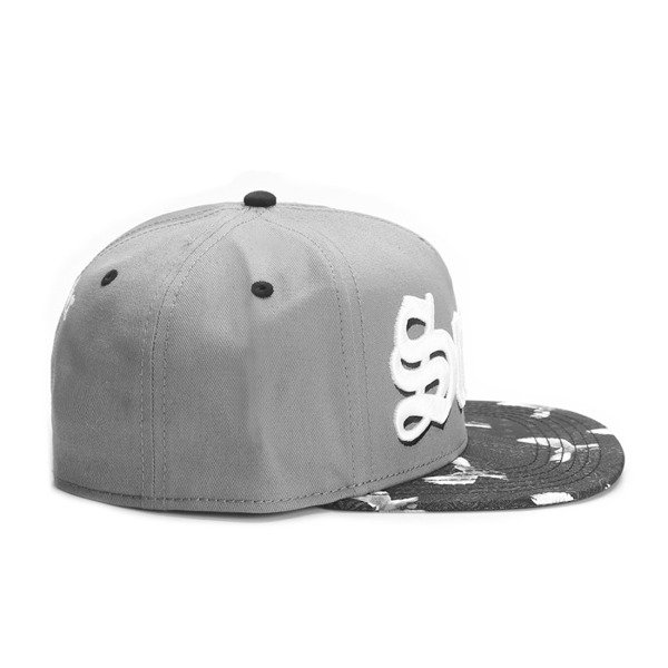 Cayler & Sons White Label snapback Saints Cap grey / black / white (WL-CAY-SS16-13)