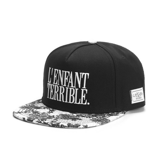 Cayler & Sons White Label snapback Terrible Cap black / white / woodland (WL-CAY-SS16-24-01)
