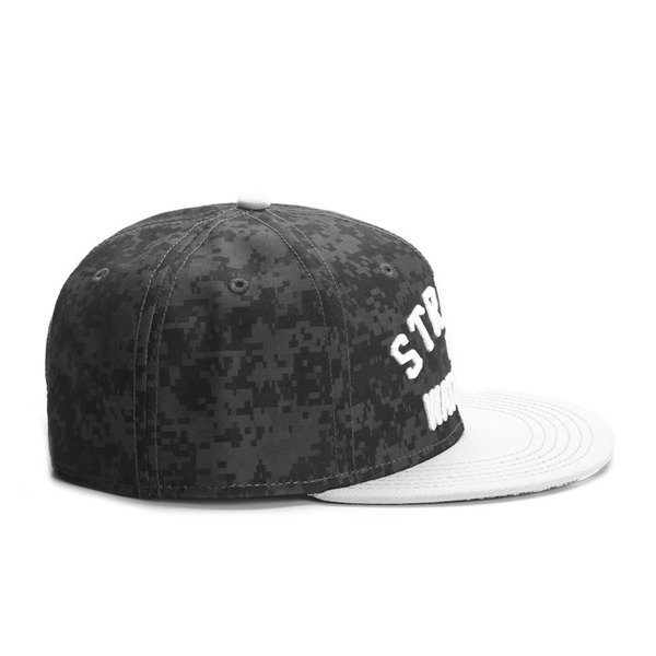 Cayler & Sons White Label snapback The Watcher Cap black digi camo / grey / white  (WL-CAY-SS16-05)