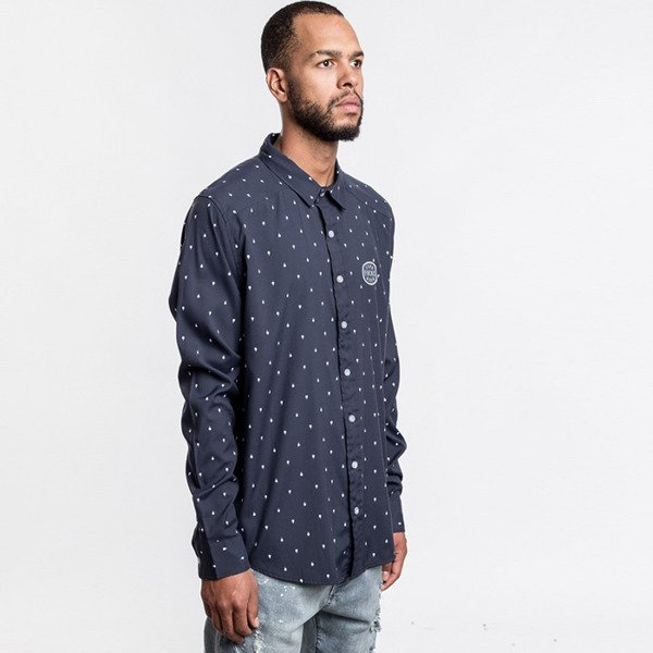 Cayler & Sons Zero Shirt navy / white WL-CAY-AW16-AP-13