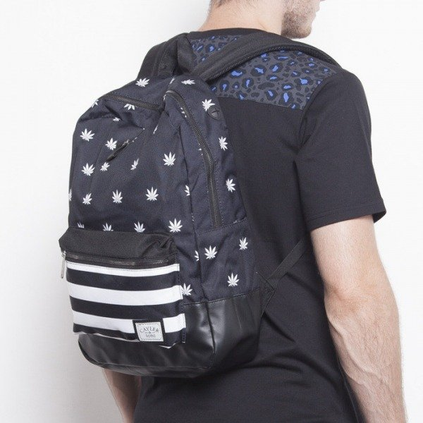 Cayler & Sons backpack Budz&Stripes Uptown black / white CAY-AW14-BP-01-02-OS