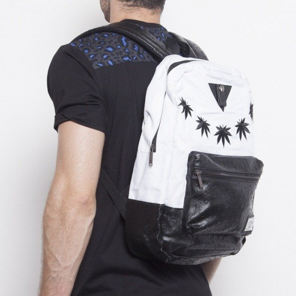 Cayler & Sons backpack Fashion Killa Uptown white / black CAY-AW14-BP-01-04-OS