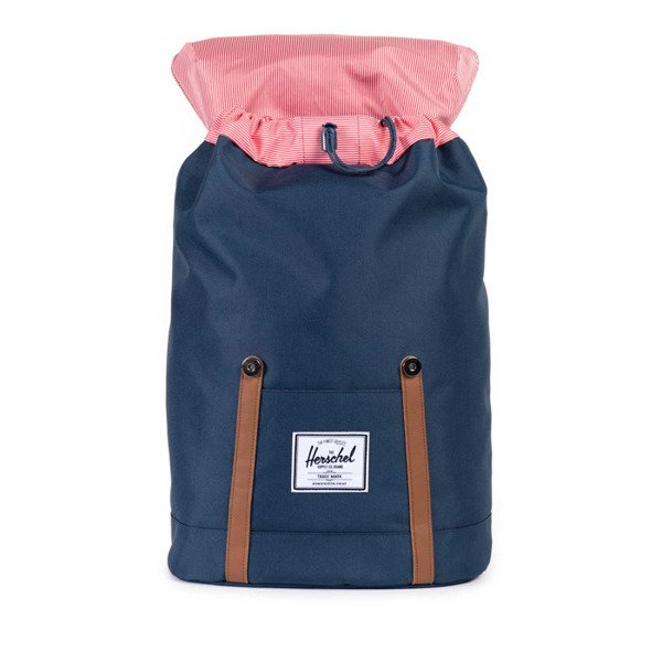 Cayler & Sons backpack Le Parisien Uptown maroon / digi roses / snake leather CAY-AW14-BP-01-07-OS
