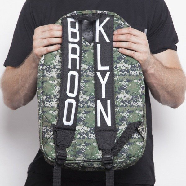 Cayler & Sons backpack Marcy Downtown digi camo / black denim CAY-AW14-BP-02-02-OS