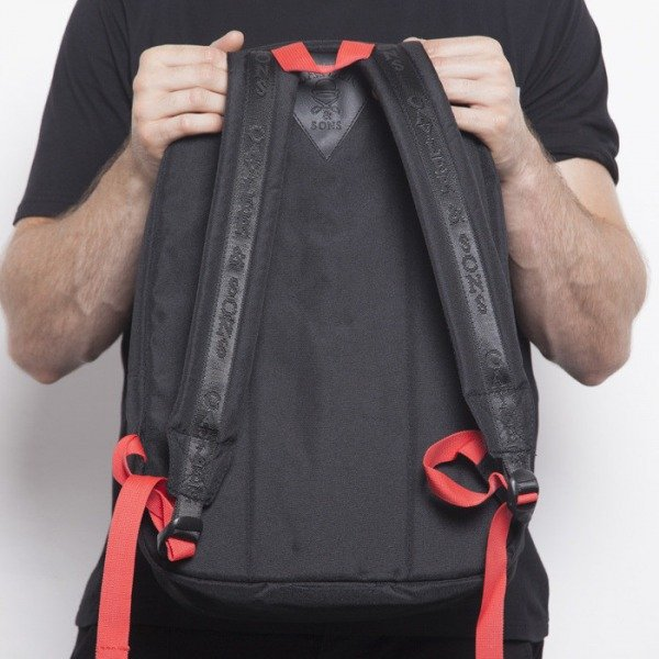 Cayler & Sons backpack Roses Downtown black / red roses CAY-AW14-BP-02-04-OS