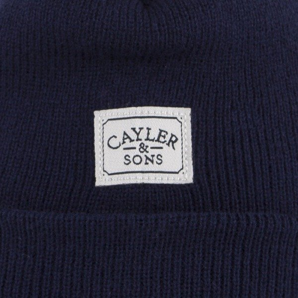 Cayler & Sons beanie Bottles Up navy / red / brown CAY-AW14-BN-01-01