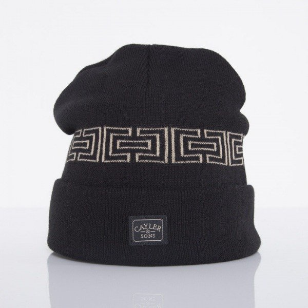Cayler & Sons beanie Goldie black / gold  CAY-AW14-BN-24-01