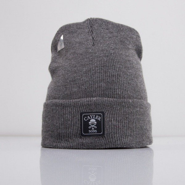 Cayler & Sons beanie Oldschool dark grey heather CAY-HD14-BN-06-01