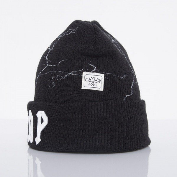 Cayler & Sons beanie Voltage black / white CAY-AW14-BN-25-01