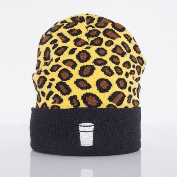 Cayler & Sons beanie Weezy leo / navy / white CAY-AW14-BN-09-01