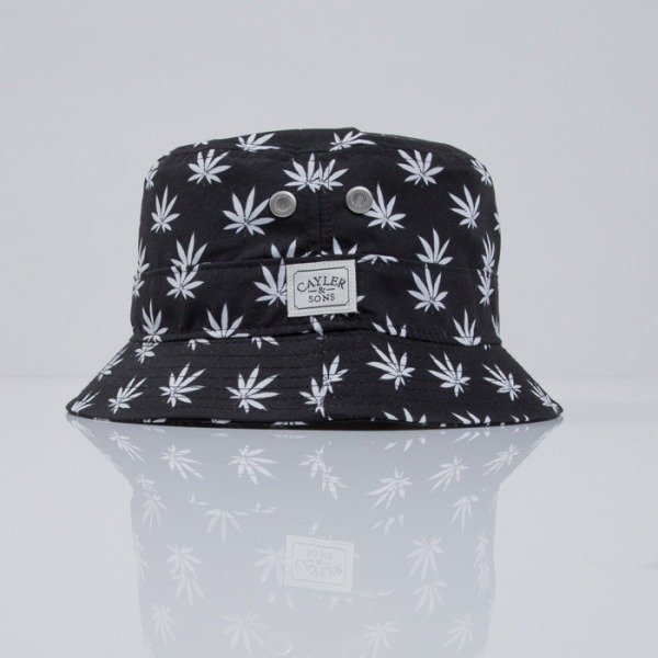 Cayler & Sons bucket Budz n Stripes black / white (CAY-SS15-04-01)