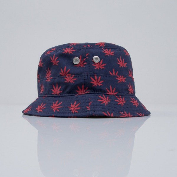Cayler & Sons bucket Budz n Stripes navy / red (CAY-SS15-04-02)